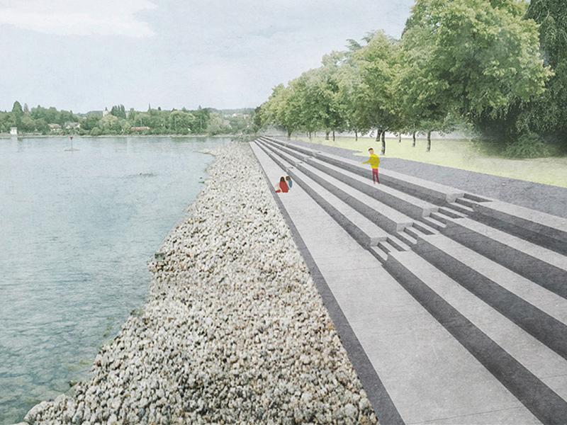 Ufertreppe Gartenschau Lindau 2021